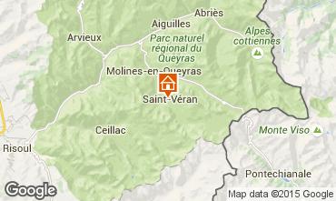 Kaart Molines Saint-Véran Appartement 67854