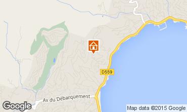 Kaart Sainte Maxime Appartement 70898