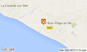 Kaart Le Bois-Plage-en-Ré Huis 15077