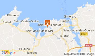 Kaart Lancieux Vakantiehuis 113987