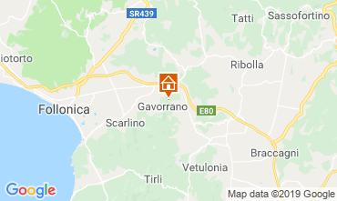 Kaart Gavorrano Villa 118750