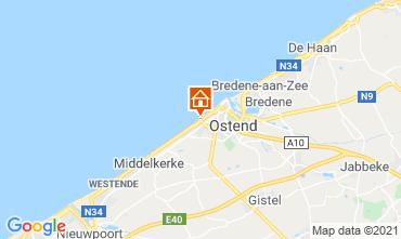 Kaart Oostende Studio 9588