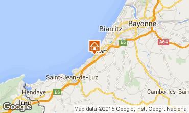 Kaart Biarritz Appartement 96607