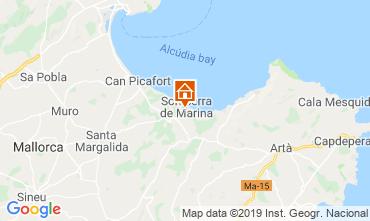 Kaart Alcudia Huis 119737