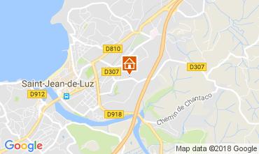 Kaart Saint Jean de Luz Appartement 112867