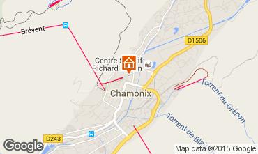 Kaart Chamonix Mont-Blanc Appartement 66847