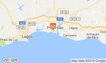 Kaart Praia da Rocha Appartement 113833