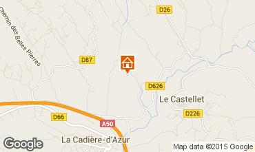 Kaart Le Castellet Villa 95709