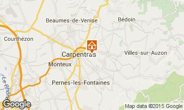 Kaart Carpentras Villa 64680