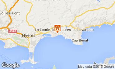 Kaart La Londe les Maures Appartement 68566