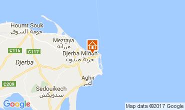 Kaart Djerba Villa 112810