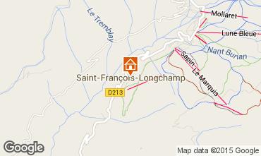 Kaart Saint François Longchamp Appartement 67175