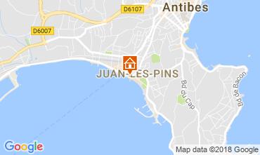 Kaart Juan les Pins Appartement 65540