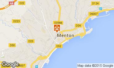Kaart Menton Appartement 96723