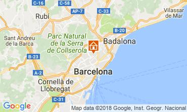 Kaart Barcelona Appartement 72336