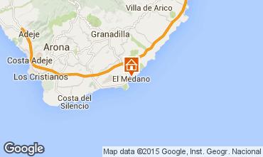 Kaart El Medano Appartement 83636