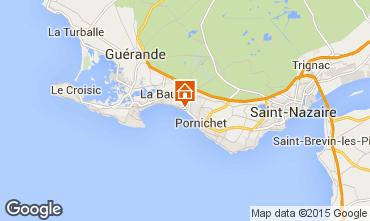 Kaart La Baule Appartement 7239