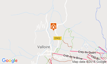 Kaart Valloire Appartement 116671
