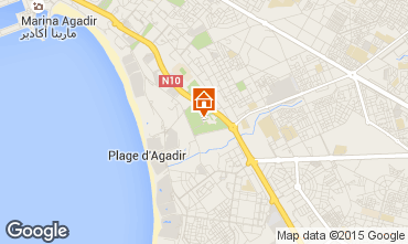 Kaart Agadir Appartement 53831