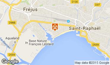 Kaart Fréjus Appartement 8488