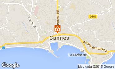 Kaart Cannes Appartement 58684