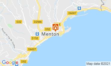 Kaart Menton Appartement 101898