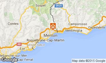 Kaart Menton Vakantiehuis 88518
