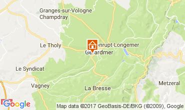 Kaart Gérardmer Chalet 108389