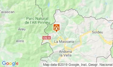 Kaart Pal-Arinsal Chalet 4740