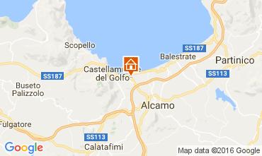 Kaart Castellammare del Golfo Huis 105043