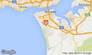 Kaart Lissabon Appartement 94305