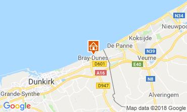 Kaart Bray-Dunes Appartement 116496