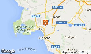 Kaart Alghero Huis 94774