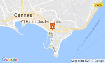 Kaart Cannes Appartement 111905
