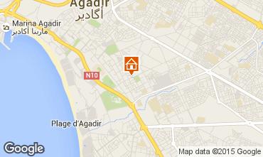 Kaart Agadir Appartement 95005