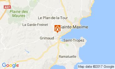 Kaart Saint Tropez Huis 70377