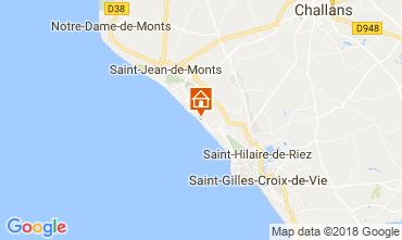 Kaart Saint Hilaire de Riez Appartement 103867