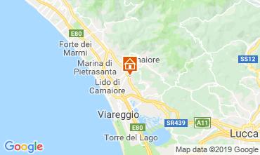 Kaart Camaiore Villa 107102