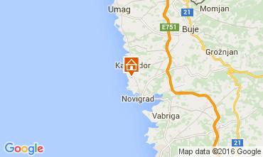 Kaart Novigrad Appartement 62763