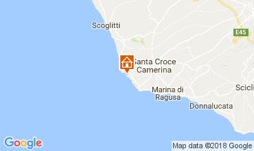 Kaart Punta Secca Villa 42957