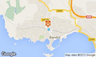 Kaart Bandol Studio 8625