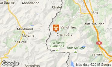 Kaart Les Crosets Studio 4698