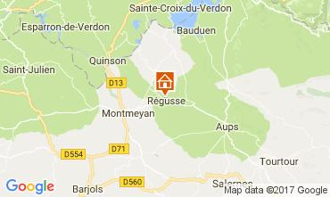 Kaart Les Salles sur Verdon Huis 29581