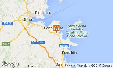 Kaart Porto San Paolo Appartement 77686