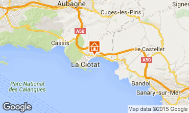 Kaart La Ciotat Studio 93231
