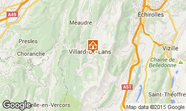 Kaart Villard de Lans - Corrençon en Vercors Studio 28781