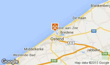 Kaart Oostende Appartement 78398
