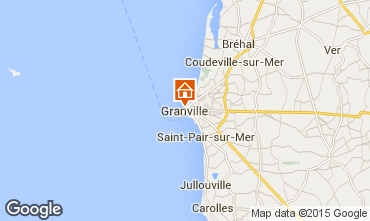 Kaart Granville Appartement 68070