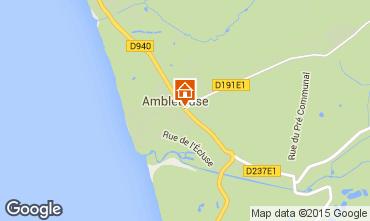 Kaart Ambleteuse Appartement 72998