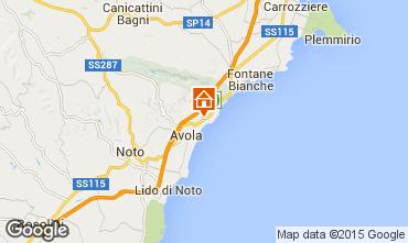Kaart Avola Villa 79539
